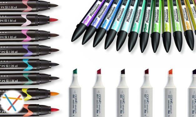 The Best Alcohol Based Markers for Artists- 2018 Buyer's Guide