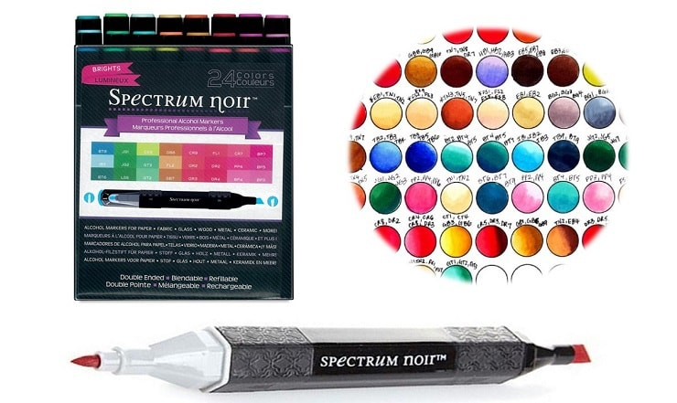 best alcohol markers for adult coloring book